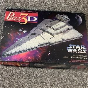 star wars imperial destroyer puzz 3D
